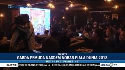 Garda Pemuda NasDem Gelar Nobar Final Piala Dunia 2018