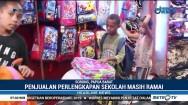Warga Sorong Berburu Perlengkapan Sekolah di Pasar Sentral Remu