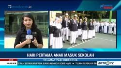 Hari Pertama Masuk Sekolah di SMAN 4 Jakarta