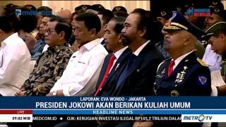 Jokowi Tiba di Kampus ABN Partai NasDem