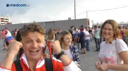 Nobar Rasa Atmosfer Stadion di Fanzone Spartak, #SalamdariRusia
