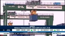 Neraca Perdagangan Juni Surplus