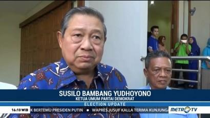 SBY Tengah Nantikan Nama Cawapres Jokowi