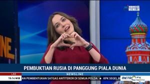 Kebanggaan Rusia atas Suksesnya Piala Dunia 2018