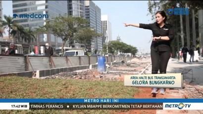 Pelebaran Trotoar Sudirman-Thamrin Rampung Akhir Juli