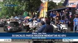 50 Bacaleg NasDem Mendaftar di KPU Jember