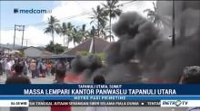 Kantor Panwaslu Tapanuli Utara Diserang Massa