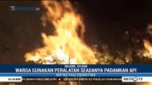 Tiga Hektar Lahan di Majene Terbakar