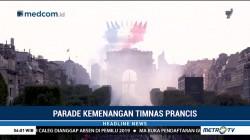 Prancis Gelar Pesta Meriah Sambut Kedatangan Timnas