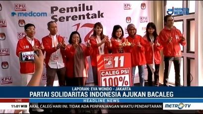 Partai Solidaritas Indonesia Ajukan 575 Bacaleg