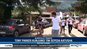 Tony Parker Ikut Bersepeda dengan Tim Katusha