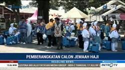 Kloter Satu JCH Embarkasi Makassar Diberangkatkan