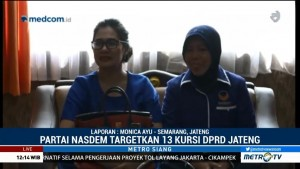 NasDem Targetkan 13 Kursi DPRD Jateng
