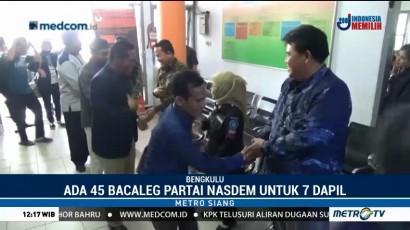 Baru Empat Parpol yang Daftarkan Bacalegnya ke KPU Bengkulu