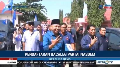NasDem Daftarkan 75 Nama Bacaleg Sumsel