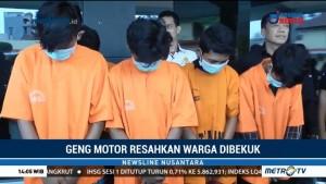 Geng Motor di Bekasi Dibekuk Polisi