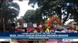 Mobil Unik Ramaikan Karnaval Beautiful Malino 2018