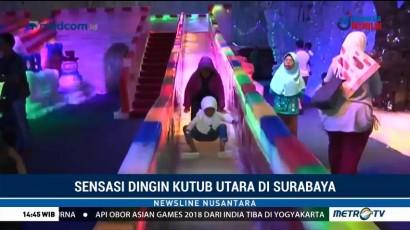 Sensasi Dinginnya Kutub Utara di Surabaya