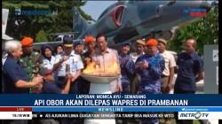 Susi Susanti Serahkan Api Obor Asian Games ke Gubernur DIY