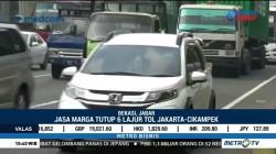 Jasa Marga Tutup 6 Lajur Tol Jakarta-Cikampek
