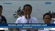 Jokowi Tanggapi Kebakaran Lahan di Sejumlah Daerah