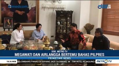 Megawati dan Airlangga Bahas Pilpres 2019