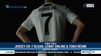 Jersey Ronaldo di Juventus Laris Manis
