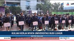 Universitas Budi Luhur Lepas 541 Peserta KKN Tematik 2018