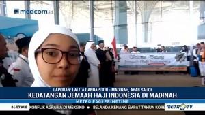 Jemaah Haji Indonesia Kloter Pertama Tiba di Madinah
