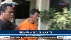 Polisi Tangkap Pelaku Pelemparan Batu di Tol Jakarta-Tangerang