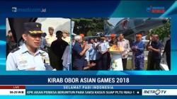 TNI AU Dukung Kirab Obor Asian Games 2018