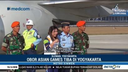 Obor Asian Games Tiba di Yogyakarta