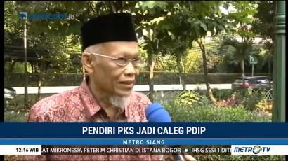Ini Alasan Pendiri PKS Yusuf Supendi Jadi Caleg PDIP