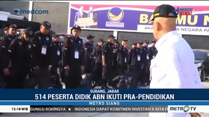 514 Peserta Didik ABN Partai NasDem Ikuti Prapendidikan