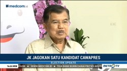 JK Jagokan Satu Kandidat Cawapres Jokowi