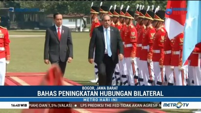 Presiden Jokowi Terima Kunjungan Presiden Federasi Serikat Mikronesia
