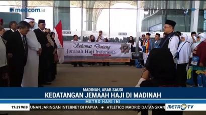 Jemaah Haji Takjub dengan Penyambutan dari Perwakilan Kerajaan Arab Saudi