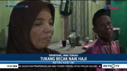 Mashuri Naik Haji dari Hasil 40 Tahun Mengayuh Becak