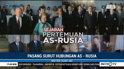 Pasang Surut Hubungan AS-Rusia