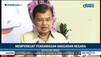 Jusuf Kalla Minta BPKP Lebih Intensif Awasi Anggaran Negara