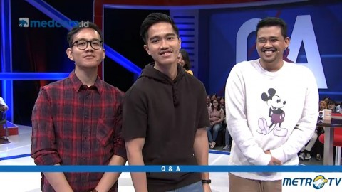 Q & A - Biasa Aja Bersama Gibran, Kaesang dan Bobby (1)