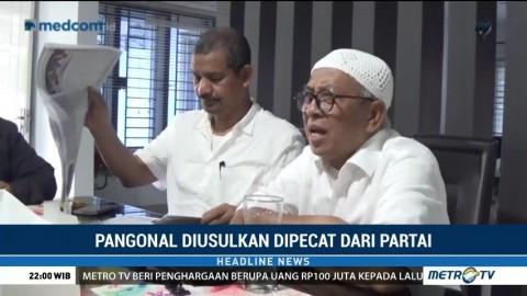 Pangonal Harahap Diusulkan Dipecat dari Partai