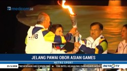 Wapres JK Buka Pawai Obor Asian Games 2018