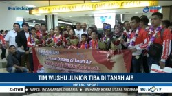 Tim Wushu Junior Indonesia Tiba di Tanah Air