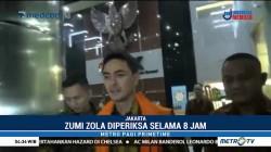Zumi Zola Bungkam Usai Diperiksa KPK