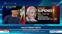 Yusuf Supendi Ungkap Alasan Nyaleg Lewat PDIP