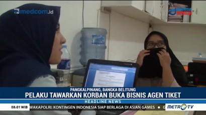 Polisi Tangkap Pelaku Penipuan Tiket Pesawat Murah di Bekasi