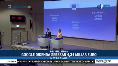 Uni Eropa Denda Google 4,34 Miliar Euro