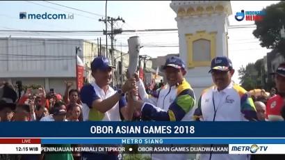 Pawai Obor Asian Games Dimulai dari Yogyakarta