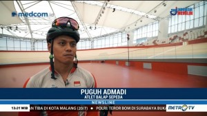 Persiapan Atlet Balap Sepeda Jelang Asian Games 2018